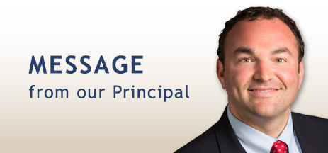 Message from our Principal